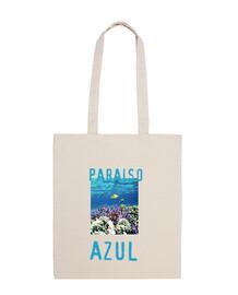 sac paradis bleu