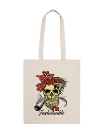 sac skull pipa hipsters vintage