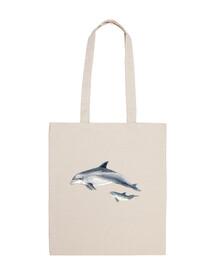 sac tissu dauphin