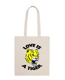 Sac Tote bag Love Tiger amour tigre