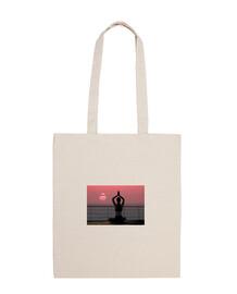 sacchetto di yoga del loto