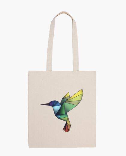 Borsa sacchetto prisma hummingbird