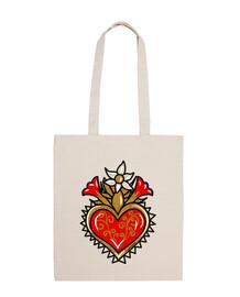sacred heart - flowers
