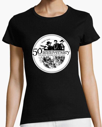 T-shirt sad collina donna 50 anniversario