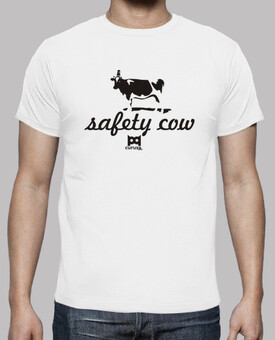 Safety cow camiseta blanca