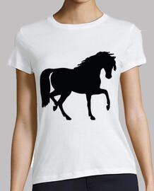 sagoma di cavallo / passo spagnolo