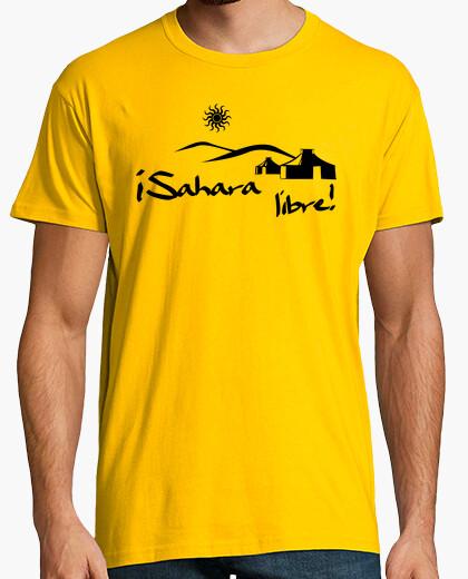 Camiseta ¡Sahara Libre! - nº 300543 - Camisetas latostadora c21f30dada3
