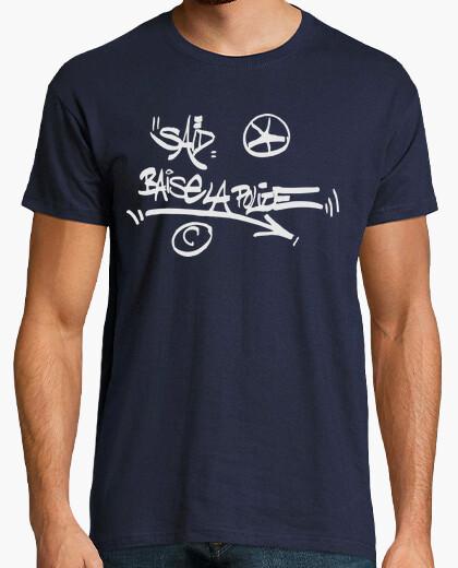 Camiseta SAID BAISE LA POLICE ( LA HAINE )