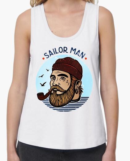 Sailor man for girl t-shirt