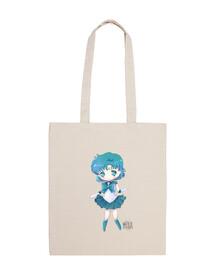 Sailor Mercury Tote bag 100 cotone