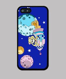 Sailor Moon. Funda iPhone 5 / 5s, negra