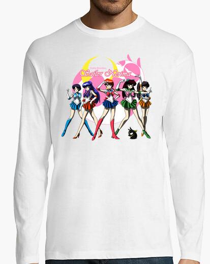 Camiseta Sailor Nerima camisa manga larga hombre