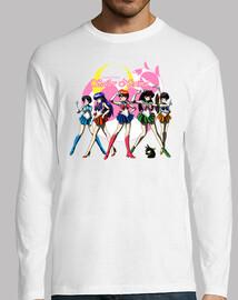 Sailor Nerima camisa manga larga hombre