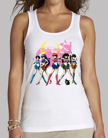 Sailor Nerima camiseta clásica tirantes mujer