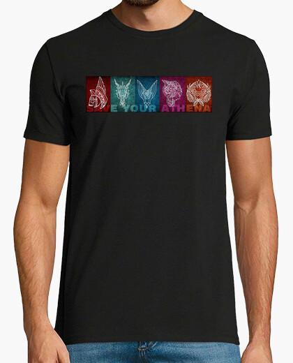 Camiseta Saint Seiya: Save Your Athena