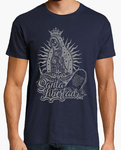 Tee-shirt sainte mort liberté