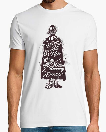 T-shirt saitama hero training