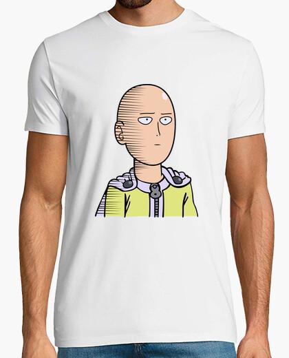 Camiseta Saitama One Punch Man White