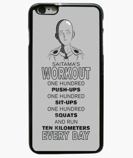 Funda iPhone 6 Plus / 6S Plus Saitama's Workout para iPhone