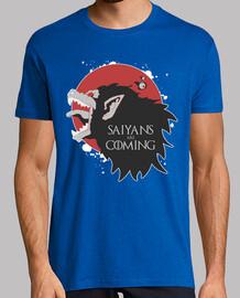 saiyan are coming