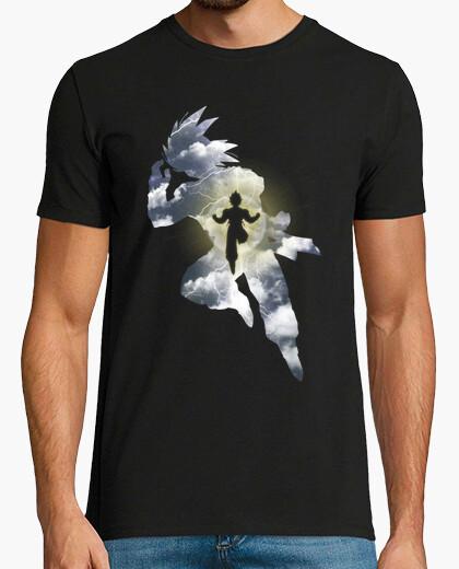 T-shirt saiyan leggendario