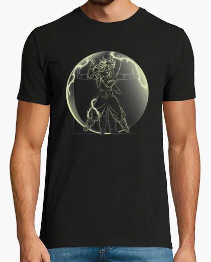Tee-shirt saiyan vitruvian (Trunks)