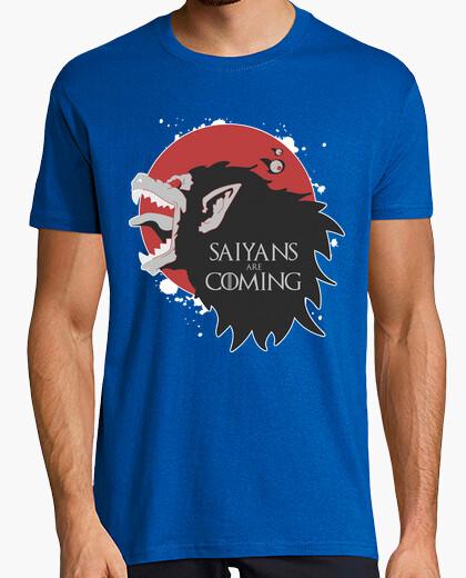 Tee-shirt saiyans sont coming