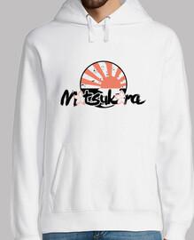 sakura hoodie / sole bianco