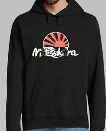 sakura hoodie / sole nero
