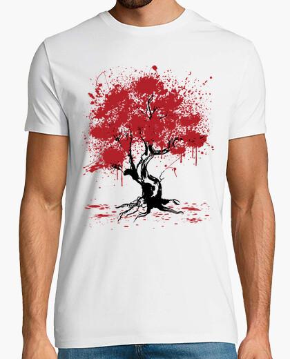 Camiseta Sakura Tree Painting