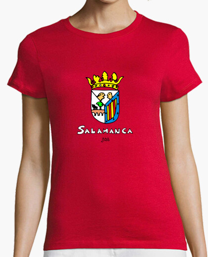 Salamanca shield drawn with text drawn t-shirt