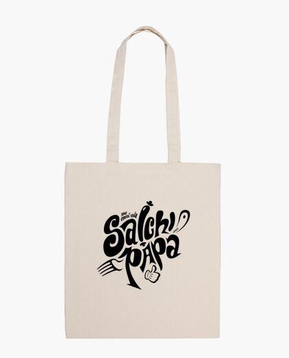 Bolsa Salchipapa (negro)