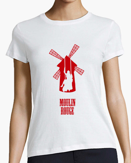 SALE!!! Camiseta Mujer - Moulin Rouge
