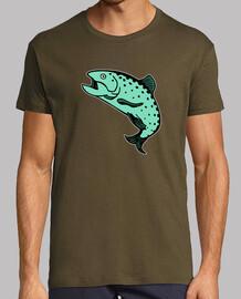 salmón trucha trute