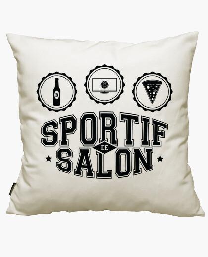 Housse de coussin salon sportif