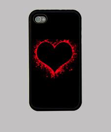 Salpicaduras de corazón