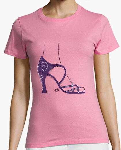 Salsa dance shoe t-shirt