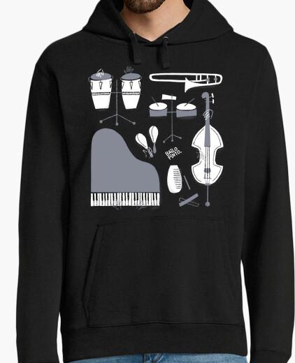 Salsa instruments hoody