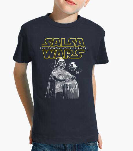 Ropa infantil Salsa Wars. The conga strikes back