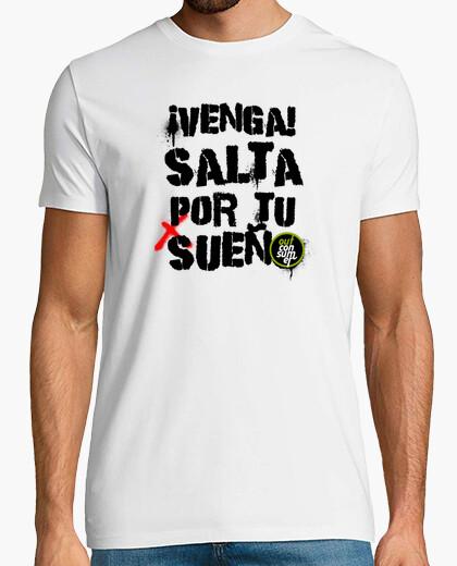 T-shirt salti per tuo sogno