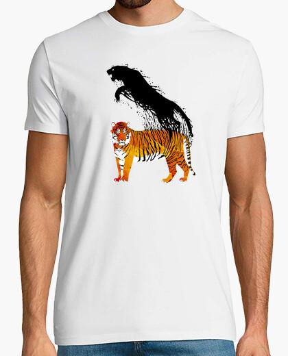Camiseta Salto de tinta del tigre