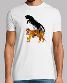 Salto de tinta del tigre