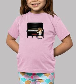 Saludo de pianista