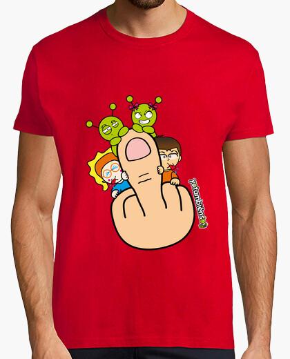 Camiseta saludo peculiar