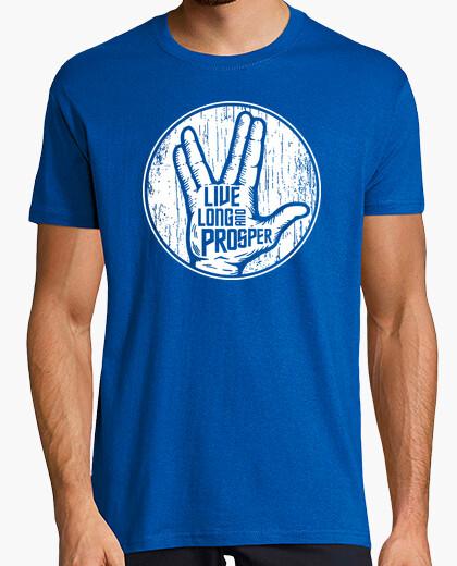 Camiseta Saludo Spock - Live Long and Prosper