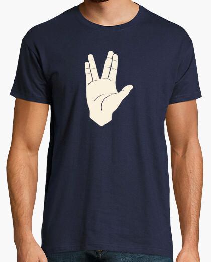 Camiseta Saludo Vulcaniano