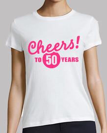 saluti a 50 anni di compleanno