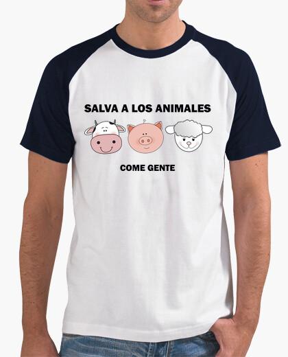 Camiseta Salva a los animales