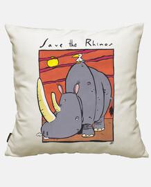 salva i rinoceronti