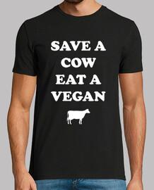 Salva una mucca, mangia un vegano